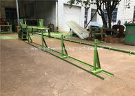 Galvanizing / PVC Wire Straightening And Cutting Machine With 4000 mm Width