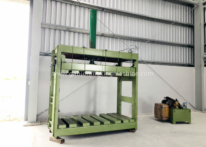 Zinc Coated Reno Gabion Mesh Machine / Gabion Mattress With Automatic Oil System