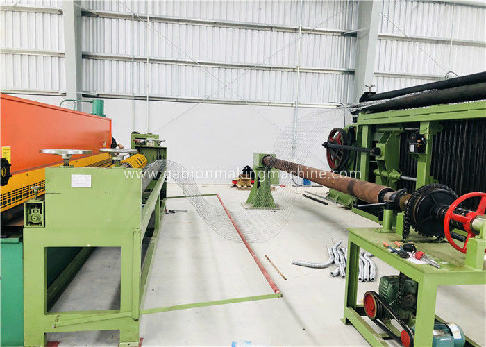 Automatic Gabion Production Line Max Width 4.5M For Reno Mattress Machine